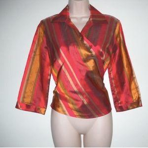 Lafayette 148 New York Shirt Wrap 4